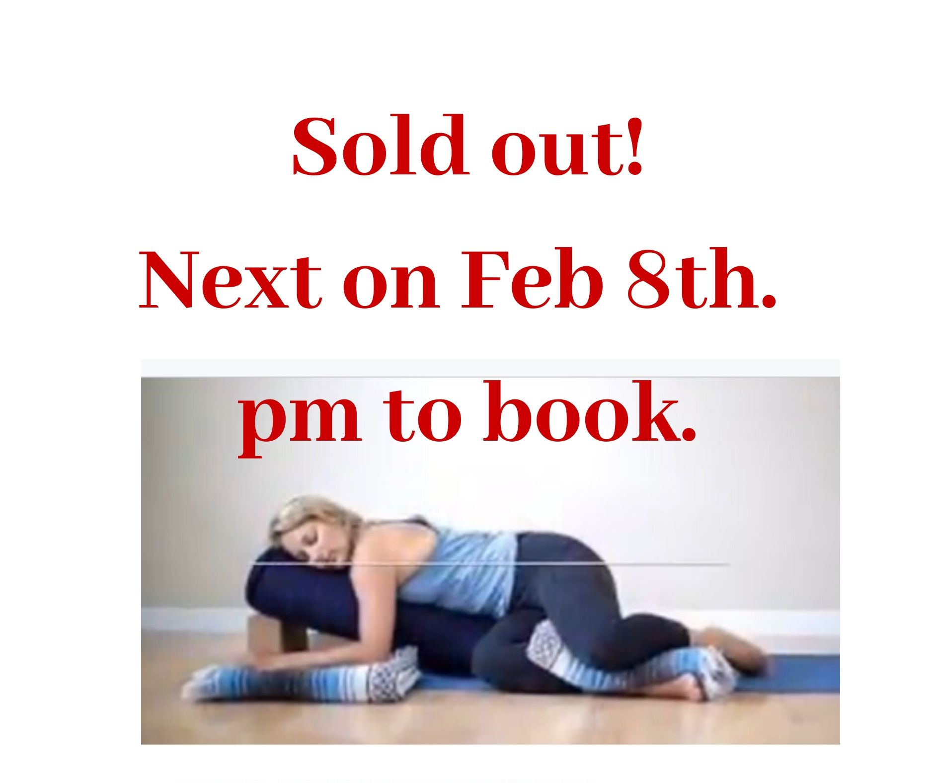 Jan 12th Y'in Safe Hands SOLD OUT!