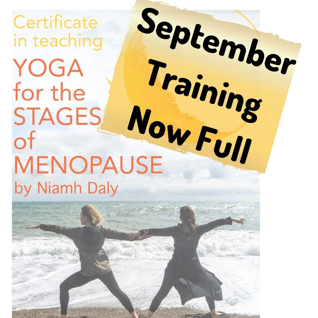 Certificate in Teaching Yoga for the Stages of Menopause Online