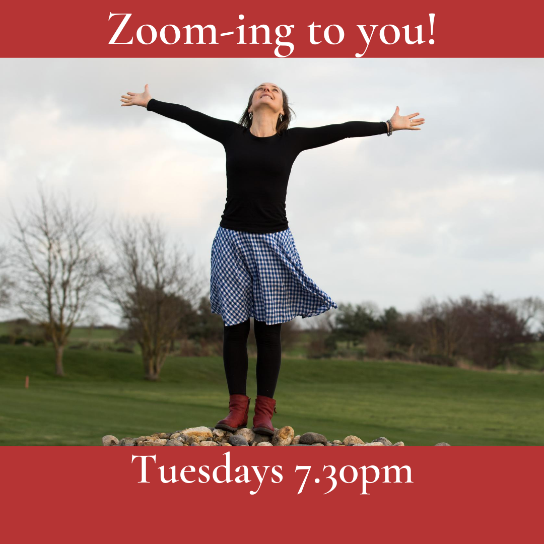 Zoom Classes Tuesdays, 7.30pm